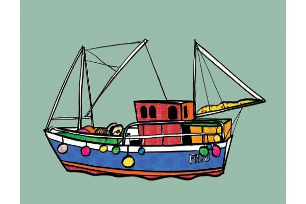 Boat And Shells Sally Atkins.jpg